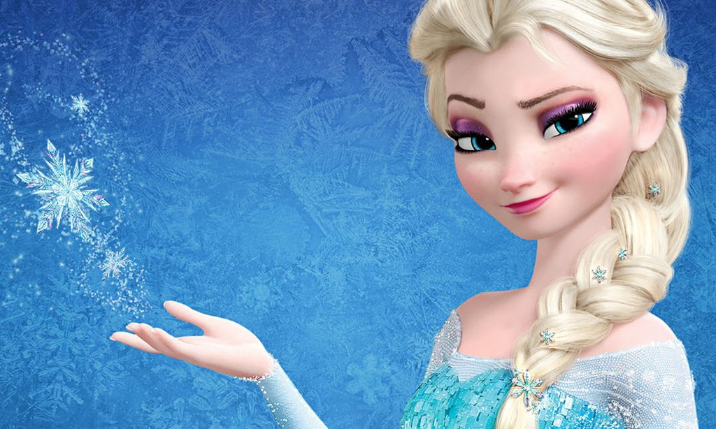 elsa frozen color