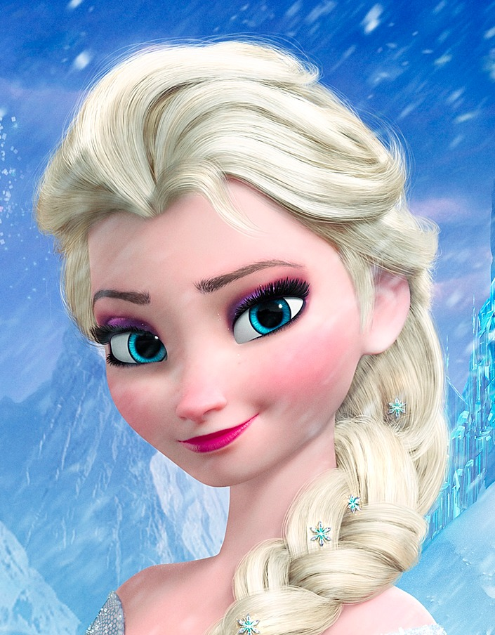elsa frozen eyes