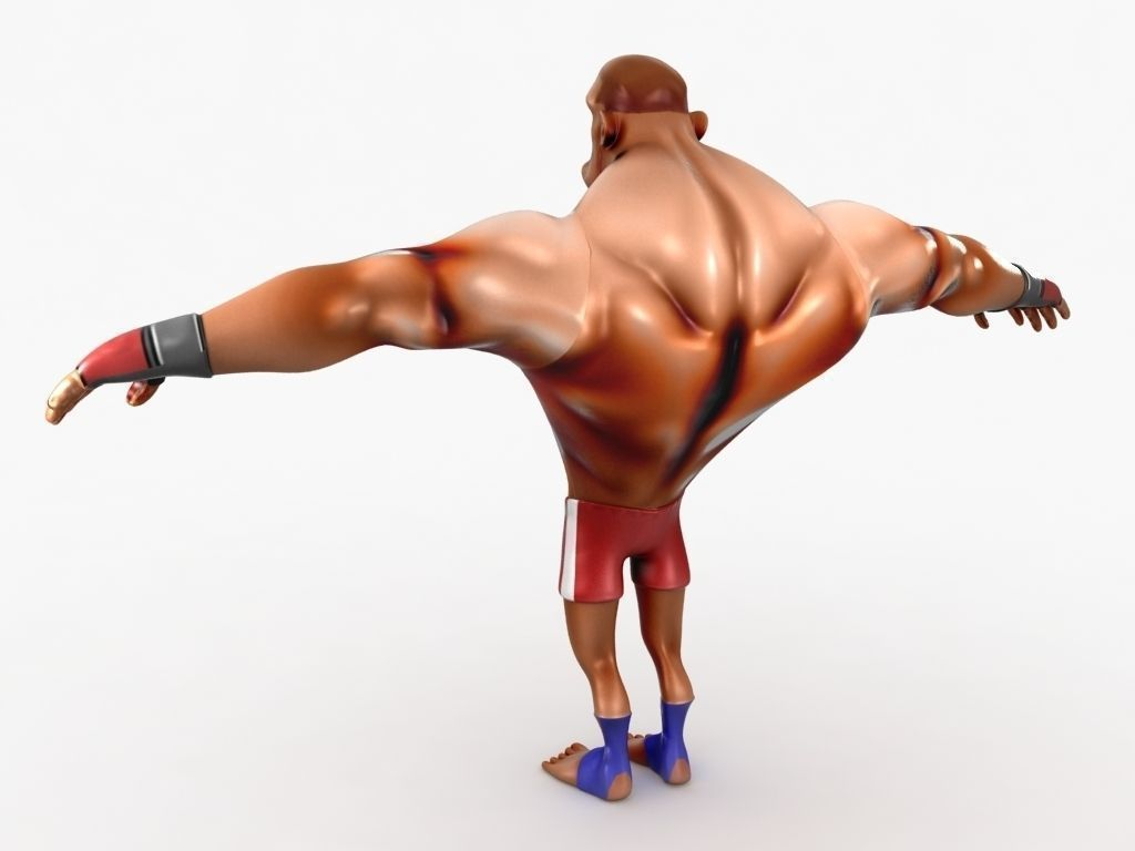 001 cartoon-mma-fighter-3d-model-low-poly-animated-rigged-max-obj-3ds-fbx-c4d-lwo-lw-lws