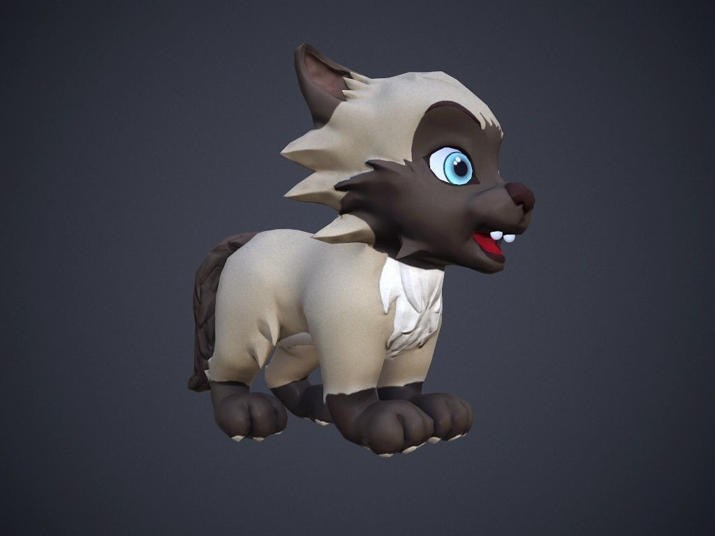 001 cartoon-talking-cat-3d-model-low-poly-animated-rigged-max-fbx-unitypackage-pdf