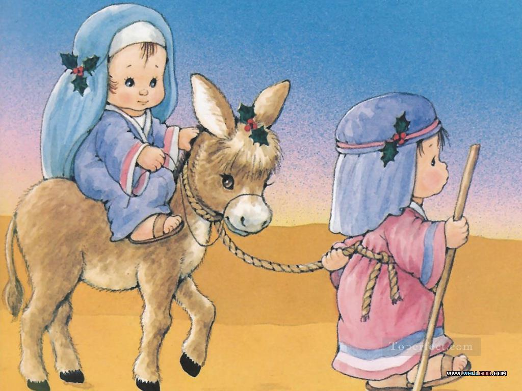 5-The-Christmas-Story-to-Egypt-cartoon-for-kids