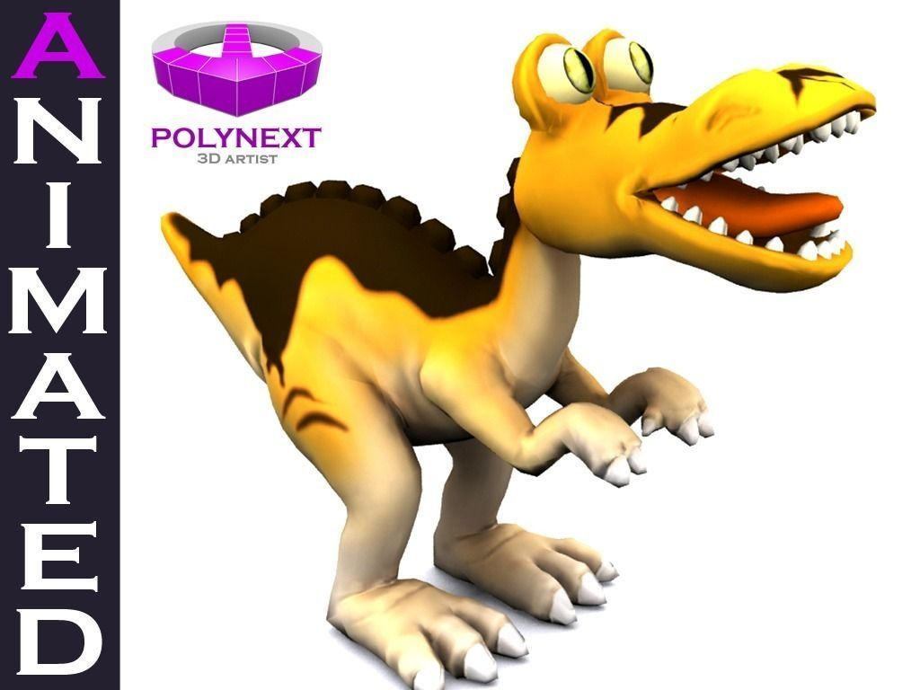 cartoon-tyrannosaurus-3d-model-low-poly-animated-rigged-max-fbx