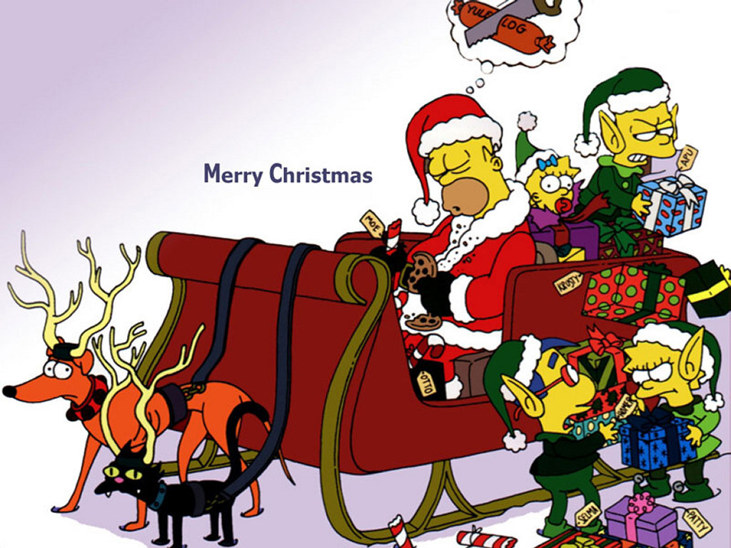 Merry-Christmas-Cartoon-wallpapers