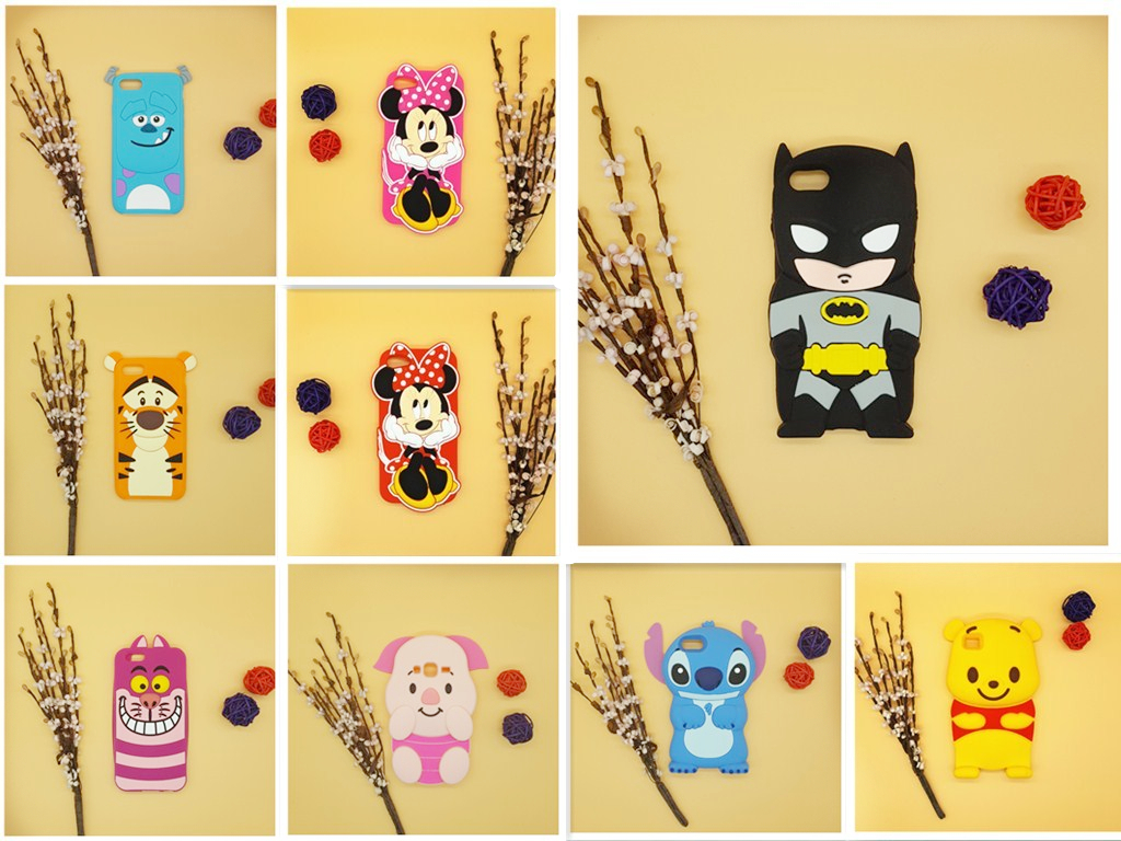 New-3D-Cartoon-Batman-Stitch-Minnie-Winnie-font-b-Pooh-b-font-font-b-Bear-b