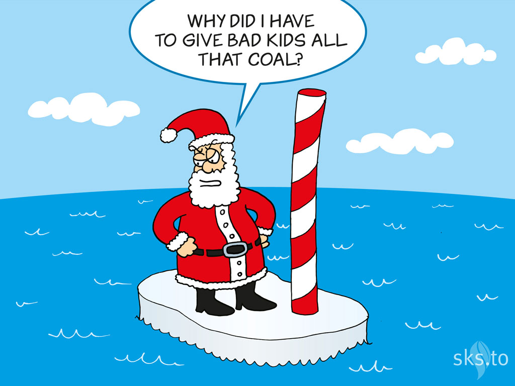 north pole cartoon