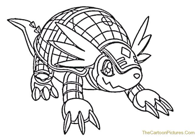 digimon data squad coloring pages - photo#7
