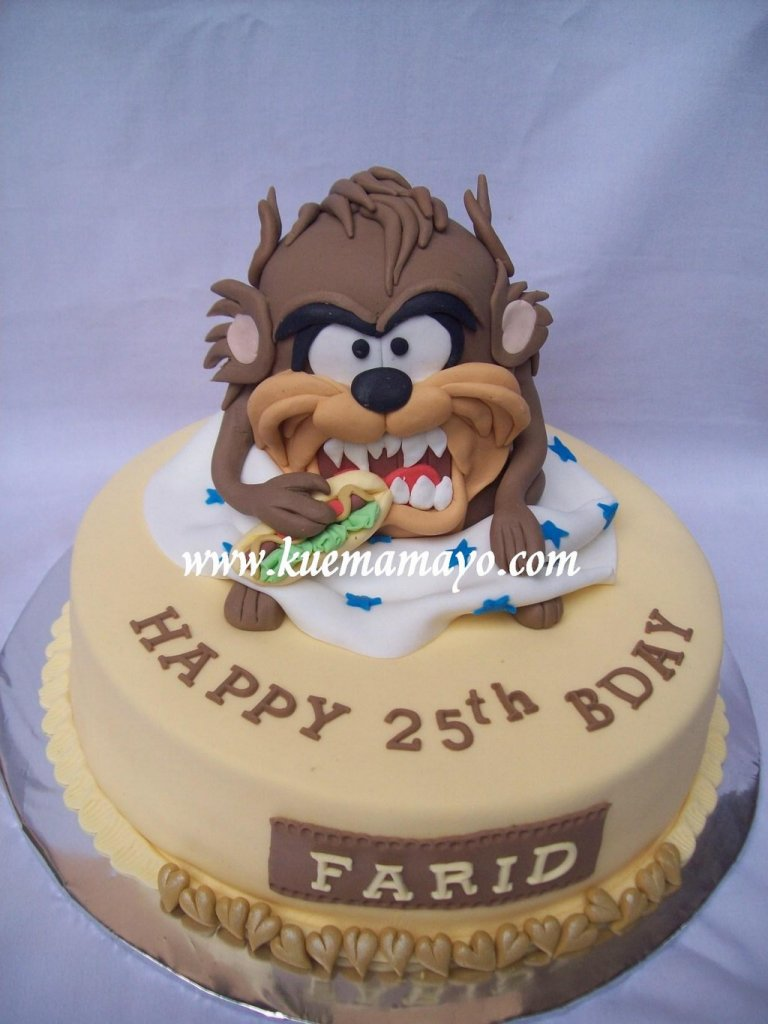 taz birthday cake