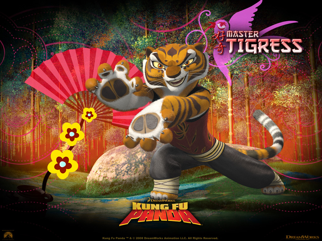 kung fu panda tigress picture kung fu panda tigress wallpaper