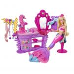 Barbie The Pearl Princess Salon Playset