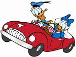 daisy and duck car