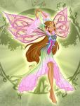 winx club flora beautiful