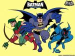 batman and robin cartoon wallpapers