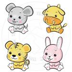 baby animals cartoon free