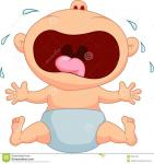 baby cartoon crying