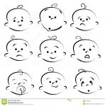 baby cartoon face free