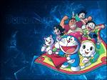 doraemon enjoy wallpaper