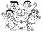 doraemon nobita coloring pages