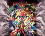 characters and Bakugan as