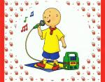 caillou sing a song