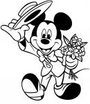 Mickey Mouse Coloring Pages 1
