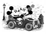 54d936ba781f27014df67404 flipped Mickey mouse wallpaper black and white