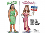 michelle melaniacartoon