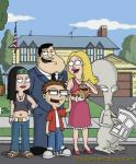 American Dad Family Street